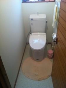 廣比様WC施工後1