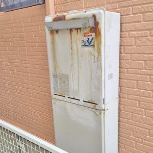 給湯器を春日井市で取り替え