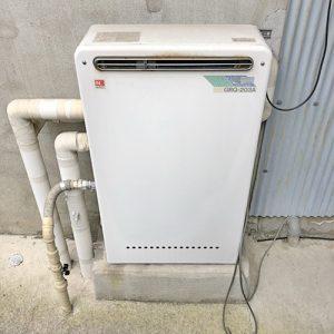 給湯器を江南市で取り替え