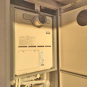 名古屋市でガス給湯器を取替え