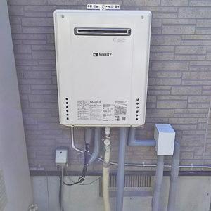 ノーリツGT-C206SAWX BLを名古屋市で交換
