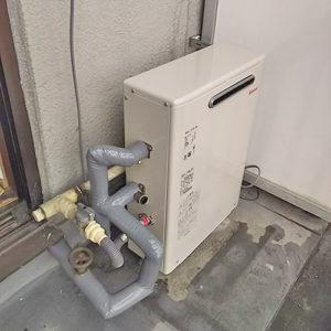 リンナイRUX-A1613Gを名古屋市で交換