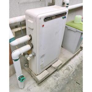 給湯器を豊田市で取り替え