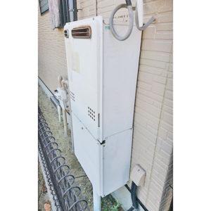 給湯器を岡崎市で取り替え
