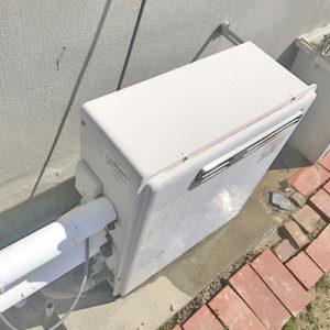 ガス給湯器を岡崎市で取り替え