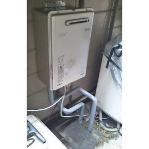 リンナイの給湯器RUX-E1616Wへ名古屋市港区で取り替え