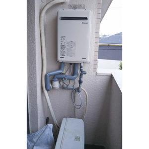 リンナイの給湯器RUX-A2406W-Eへ名古屋市名東区で交換