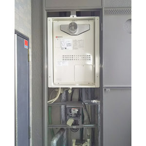 ノーリツの給湯器GTH-2444SAWX3H-T-1 BLへ名古屋市昭和区で交換