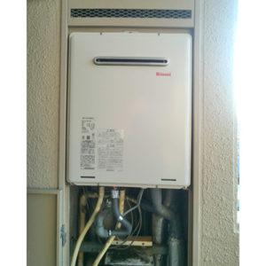 リンナイのガス給湯器RUF-A1615SAW(B)へ給湯器の交換工事
