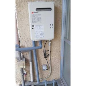 ノーリツのガス給湯器GQ-2039WS-1へ名古屋市西区で交換工事