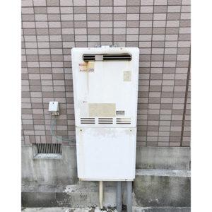 愛知県名古屋市名東区高社にて給湯器取り替え