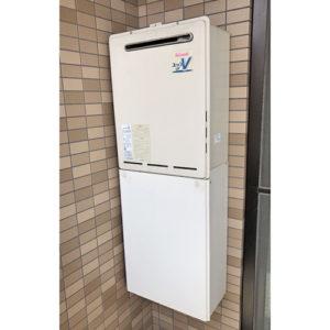 名古屋市東区で給湯器の交換工事