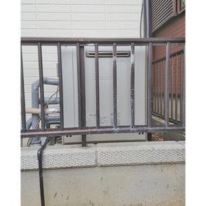 ノーリツのガス給湯器GT-C2062SARX BLへ名古屋市守山区で取り替え工事