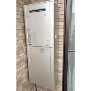 リンナイのガス給湯器RUF-E2005AW(A)へ名古屋市東区で交換工事