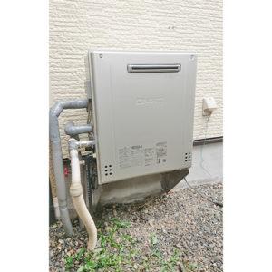 ノーリツのガス給湯器GT-C2462SARX BLへ名古屋市港区での給湯器の交換
