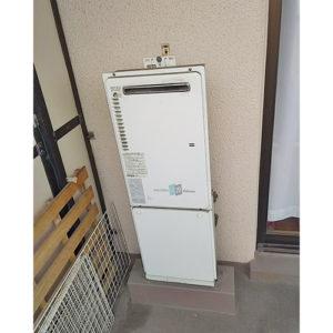愛知県名古屋市千種区若水での給湯器の取り替え工事