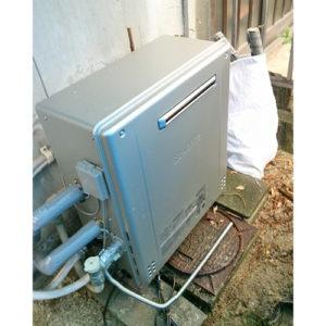 ノーリツのガス給湯器GT-C2462SARX BLへ愛知県名古屋市港区港栄で取り替え工事