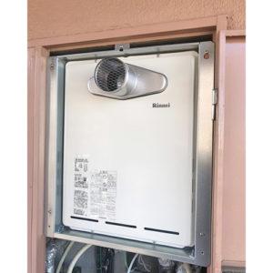 リンナイの給湯器RUF-A1615SAT-L(B)へ愛知県名古屋市港区木場町取り替え