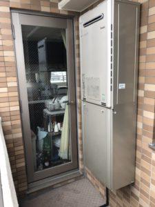 リンナイの給湯器RUFH-E2406SAW2-6へ愛知県名古屋市昭和区檀渓通での取り替え
