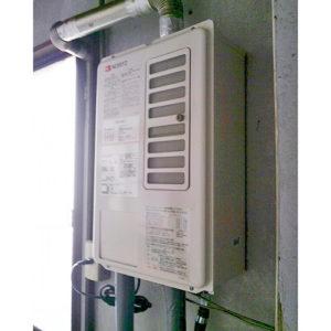 ノーリツの給湯器GQ-1637WSD-F-1へ愛知県名古屋市中区大須での取り替え