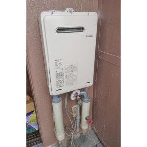 リンナイの給湯器RUX-A1015W-Eへ愛知県名古屋市瑞穂区弥富通取り替え工事