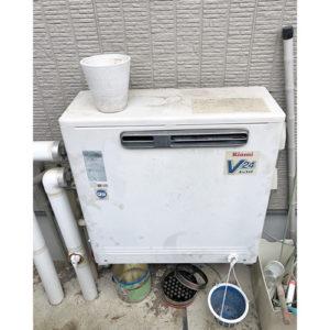 愛知県名古屋市守山区吉根で給湯器の交換
