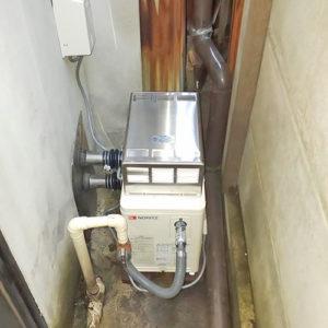 ノーリツの給湯器GSY-132Dへ愛知県名古屋市昭和区取り替え工事
