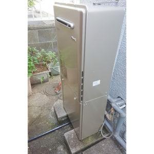 リンナイ給湯器RUF-E1615SAW(A)へ愛知県名古屋市港区取り替え工事