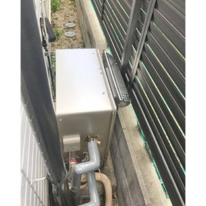 リンナイ給湯器RUF-E2008SAG(A)へ愛知県名古屋市港区本宮町で取り替え