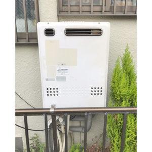 愛知県名古屋市守山区での給湯器の取り替え工事