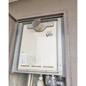 愛知県名古屋市守山区瀬古の給湯器取り替え工事