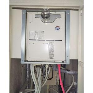 リンナイ給湯器RVD-A2400AT2-3(A)へ愛知県名古屋市千種区汁谷町交換工事