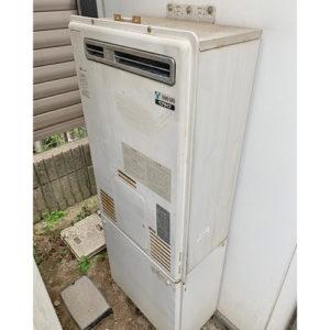 愛知県名古屋市西区城西の給湯器の取り替え工事