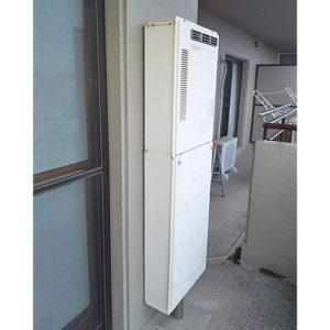 愛知県名古屋市瑞穂区軍水町の給湯器の取り替え工事