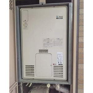 愛知県名古屋市昭和区石仏町給湯器の取り替え工事