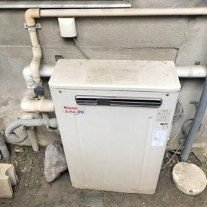 愛知県名古屋市千種区での給湯器取り替え工事