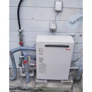リンナイ給湯器RUX-A2013Gへ愛知県名古屋市西区栄生の取り替え工事