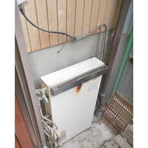 愛知県名古屋市中村区塩池町給湯器交換工事