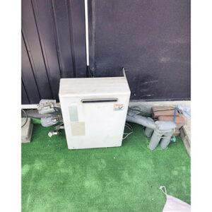 愛知県名古屋市中川区下之一色町の給湯器の取り替え工事