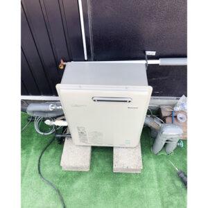 リンナイ給湯器RUX-E2406Gへ愛知県名古屋市中川区下之一色町の取り替え工事