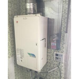 愛知県名古屋市中区大須の給湯器の取り替え工事