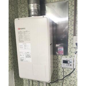 ノーリツ給湯器GQ-2437WS-FFAへ愛知県名古屋市中区大須の取り替え工事