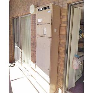 愛知県名古屋市東区泉での給湯器取り替え工事