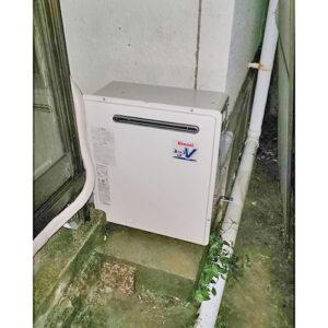 リンナイ給湯器RUF-A2003SAG(B)へ愛知県名古屋市千種区の取り替え工事