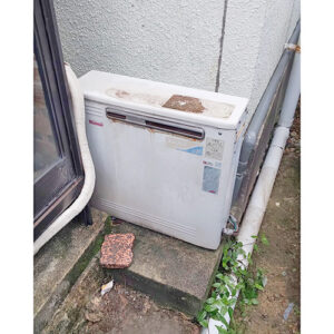 愛知県名古屋市千種区の給湯器の取り替え工事