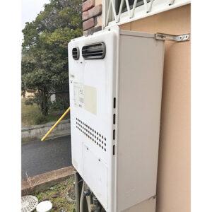 愛知県長久手市野田農給湯器の取り替え工事