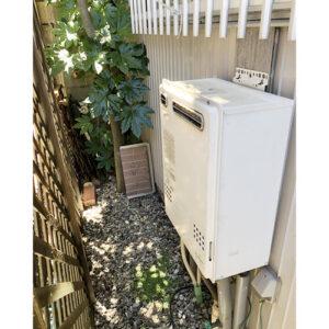 愛知県名古屋市東区給湯器取り替え工事