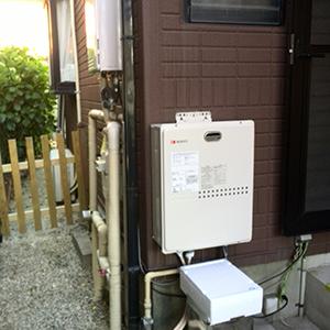ノーリツ給湯器GST-131へ愛知県名古屋市緑区取り替え工事