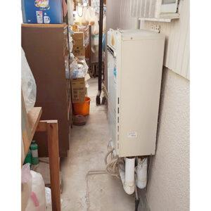 愛知県名古屋市緑区黒沢台で給湯器