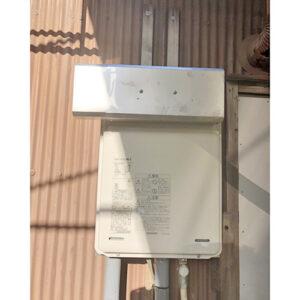 リンナイ給湯器RUX-A1616W-Eへ愛知県名古屋市北区金田町取り替え工事